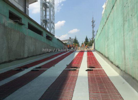 AVM yol ISITMA sistemi