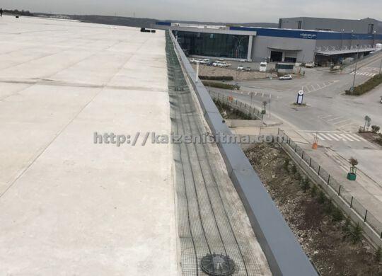 Memran çatı yüzeyi ISITMA sistemi